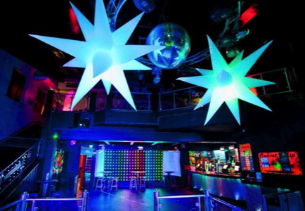Lucid Productions Club Decor Stars Page